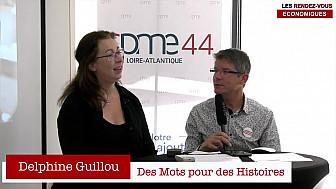 Les Rendez-vous Économiques Smartrezo : Delphine Guillou #CPME44 #interview #engagement #entrepreneur