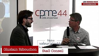 Les Rendez-vous Économiques Smartrezo : Ghislain Ribouchon #CPME44 #interview #engagement #entrepreneur