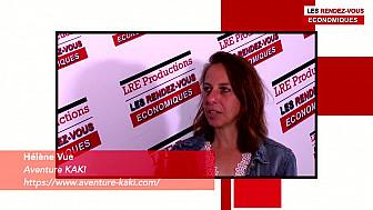 Les Rendez-vous Économiques Hélène Vue Aventure KAKI  #vendée #laochesuryon #entrepreneur #réseauxprofessionnels #interview #LRE22MAI