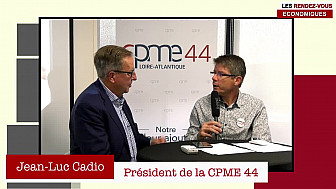 Les Rendez-vous Économiques Smartrezo :  Jean-Luc CADIO @cpme44 #interview #engagement #entrepreneur