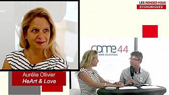 Les Rendez-vous Économiques Smartrezo : Aurélie Ollivier #CPME44 #cpme44 #engagement #entrepreneur