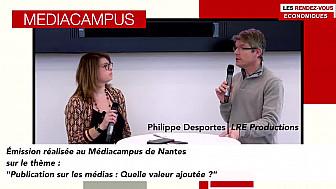Les Rendez-vous Économiques au Médiacampus à Nantes #médias #journaliste #entrepreneurs @Smartrezo