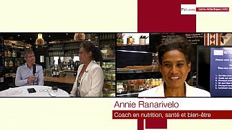 Les Rendez-vous Économiques Annie Ranarivelo @interview coach en nutrition, santé et bien être