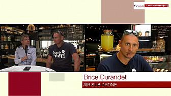 Les Rendez-vous Économiques Smartrezo :  Brice Durantdet AIRSUB drone @interview