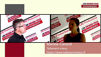 Marine Canard  #mismo #tellementmieux #lesrendezvouséconomiques #interview LRE29MAI