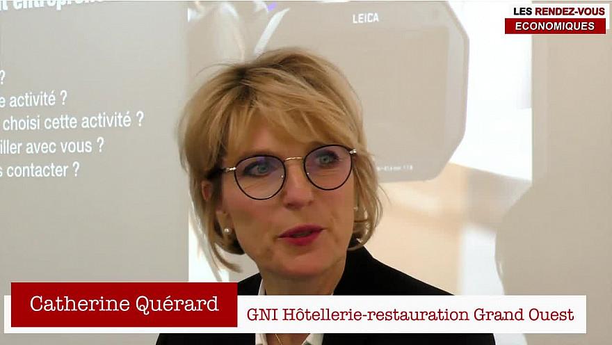 Les Rendez-vous Économiques Smartrezo : Catherine Querard #CPME44 #interview #engagement #entrepreneur