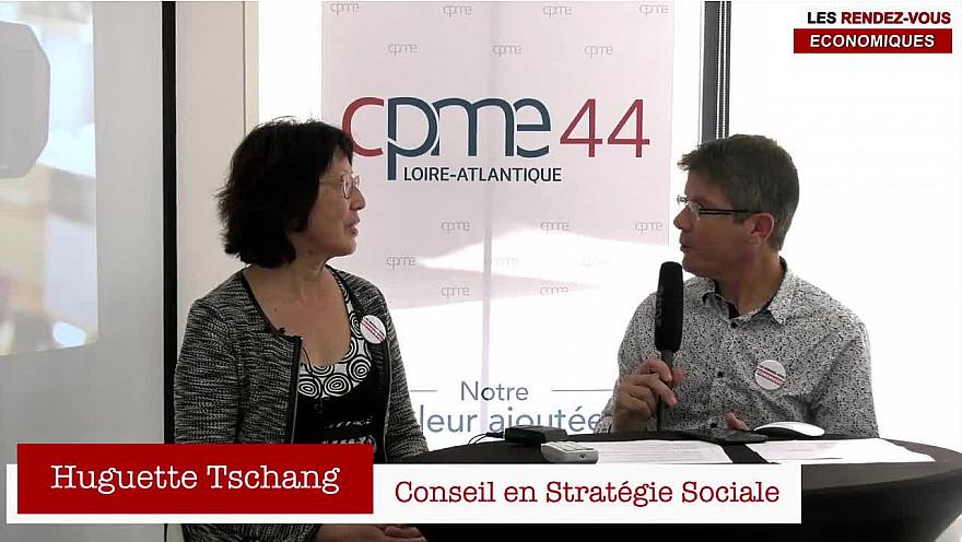Les Rendez-vous Économiques Smartrezo : Huguette Tschang #cpme44 #interview #engagement #entrepreneur