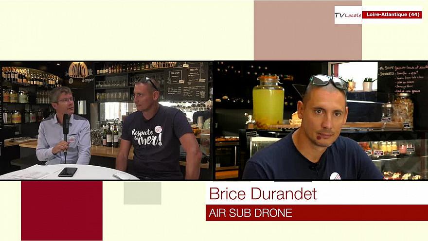 Brice Durantdet AIRSUB drone @interview