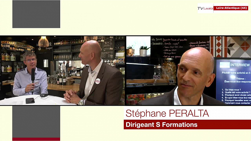 Stéphane PERALTA Dirigeant S Formations @interview