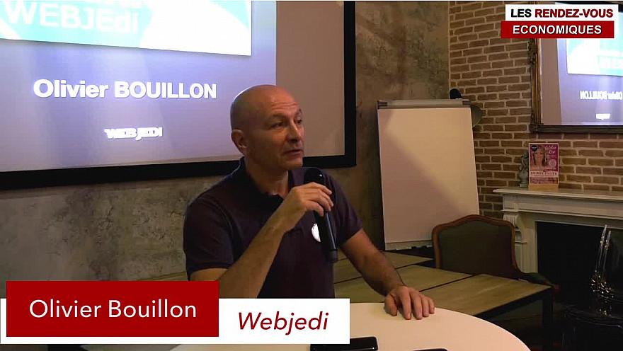 Les Rendez-Vous Économiques : Olivier Bouillon WEBJEDI @entreprendre @économie