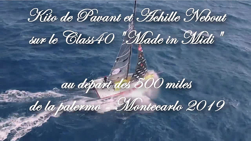 La Palermo-Montecarlo en double avec Achille Nebout Kito : « Un entraînement grandeur nature » @Made_in_Midi @Occitanie